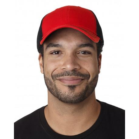 FA102 Adams FA102 Fairway Cap RED/BLACK