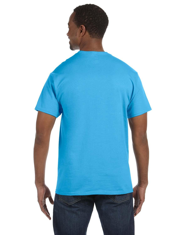 5250T Hanes AQUATIC BLUE