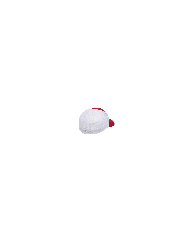 6511 Flexfit RED/WHITE