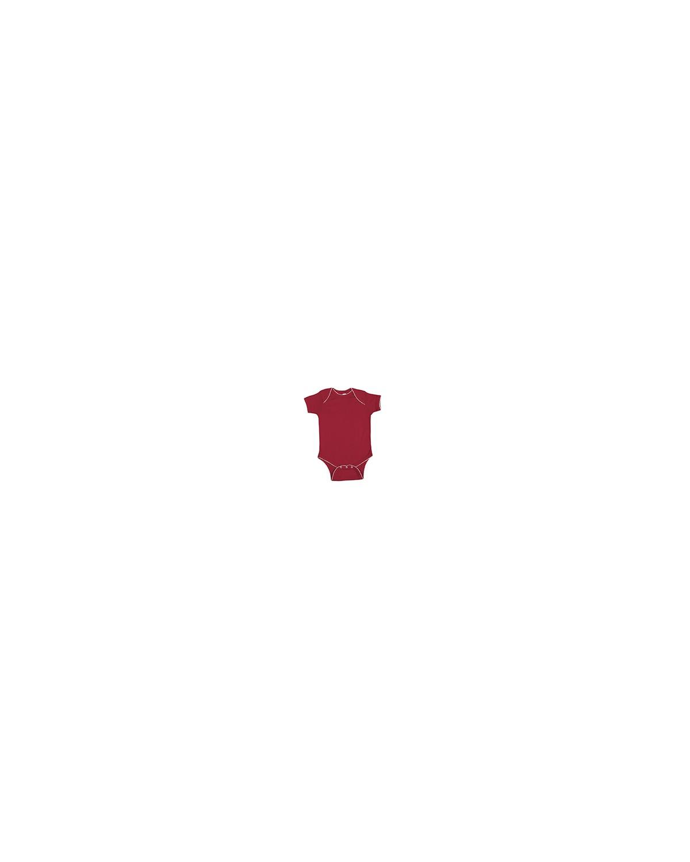 4400 Rabbit Skins RED/WHITE PICOT