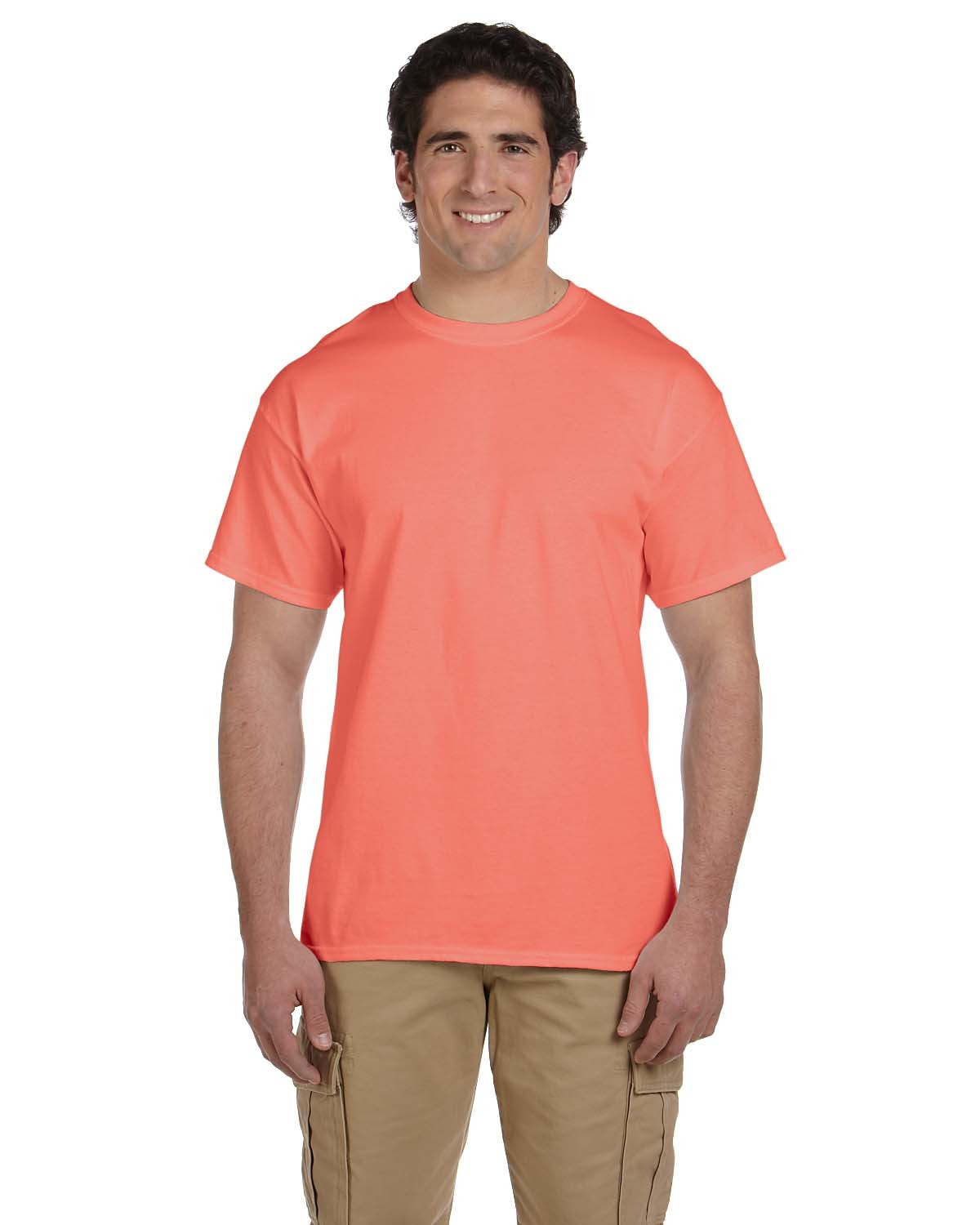 3931 Fruit of the Loom RETRO HTH CORAL