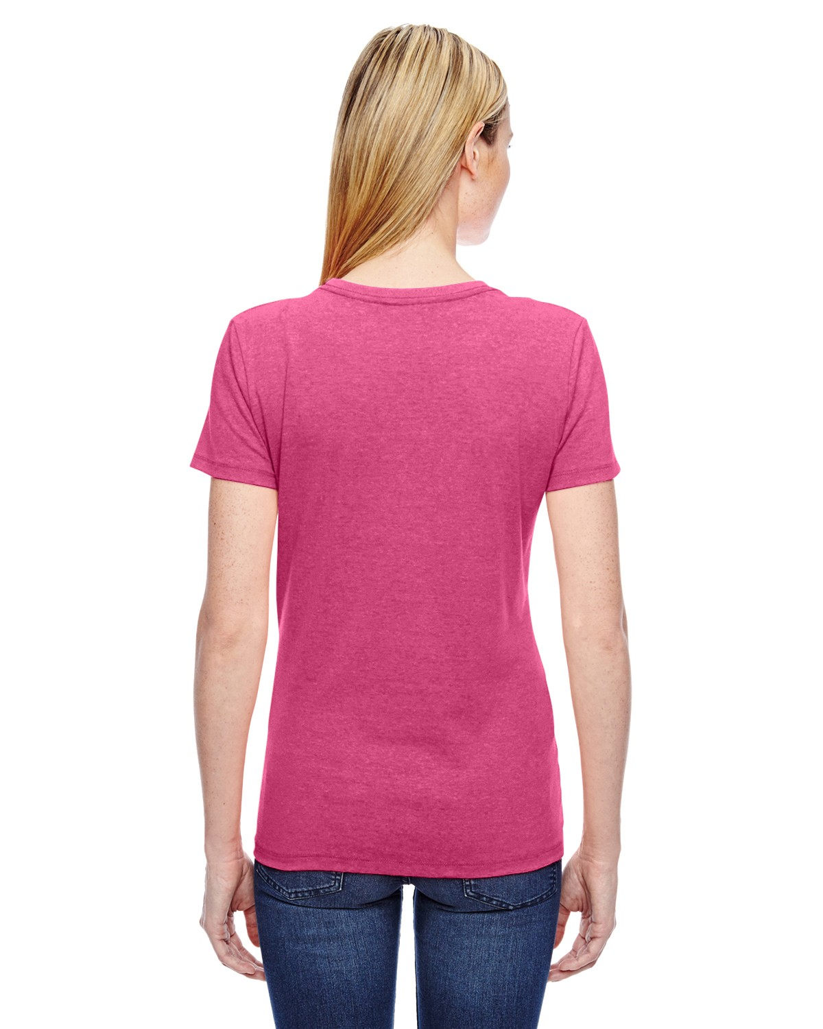L3930R Fruit of the Loom RETRO HTR PINK