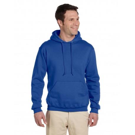 4997 Jerzees 4997 Adult 9.5 oz. Super Sweats NuBlend Fleece Pullover Hood ROYAL