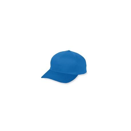 6204 Augusta Sportswear 6204 6-Panel Cotton Twill Low Profile Cap ROYAL