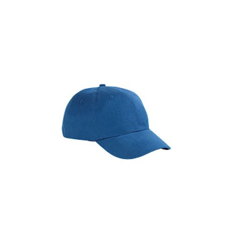 BX002 Big Accessories BX002 6-Panel Brushed Twill Structured Cap ROYAL
