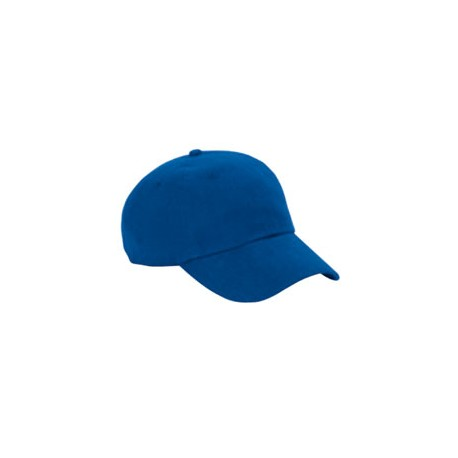BX005 Big Accessories BX005 6-Panel Washed Twill Low-Profile Cap ROYAL