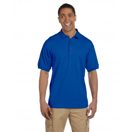 G380 Gildan G380 Adult Ultra Cotton Adult 6.3 oz. Pique Polo ROYAL