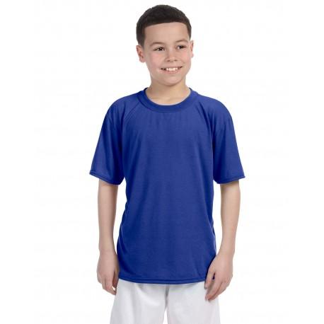 G420B Gildan G420B Youth Performance Youth 5 oz. T-Shirt ROYAL