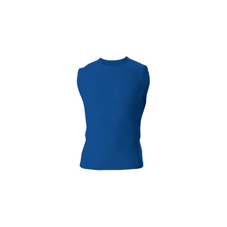 N2306 A4 N2306 Men's Compression Muscle Shirt ROYAL
