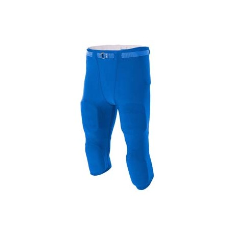 N6181 A4 N6181 Men's Flyless Football Pants ROYAL