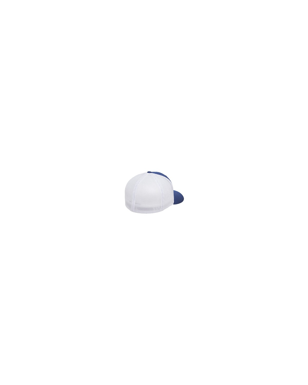 6511 Flexfit ROYAL/WHITE