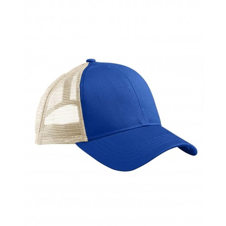EC7070 Econscious EC7070 Eco Trucker Organic/Recycled Hat ROYAL/WHITE