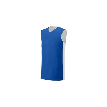 NB2320 A4 NB2320 Youth Reversible Moisture Management Muscle Shirt ROYAL/WHITE