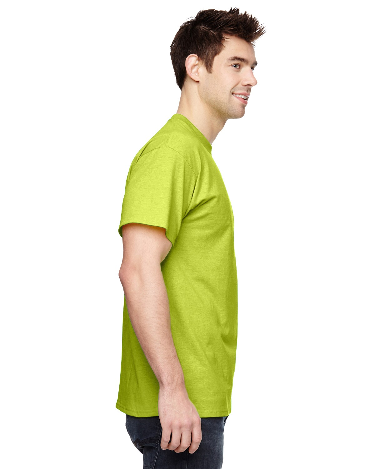 3931 Fruit of the Loom SAFETY GREEN