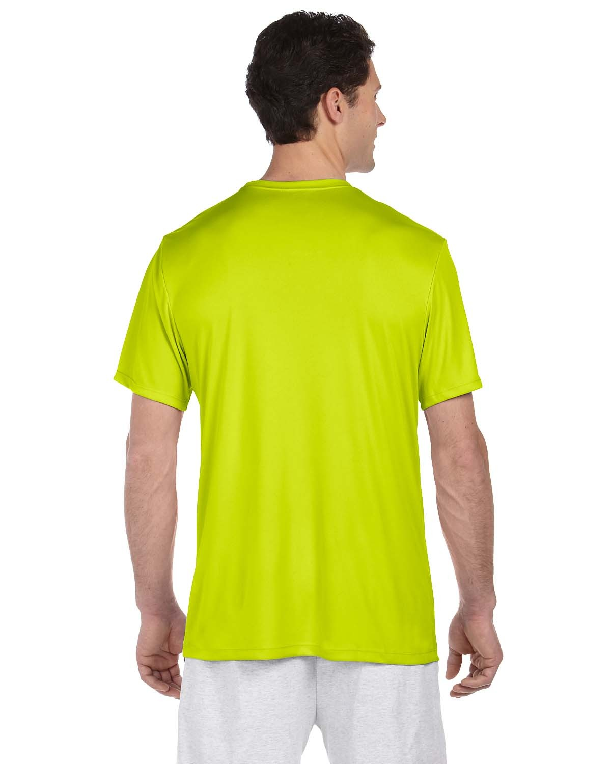 4820 Hanes SAFETY GREEN