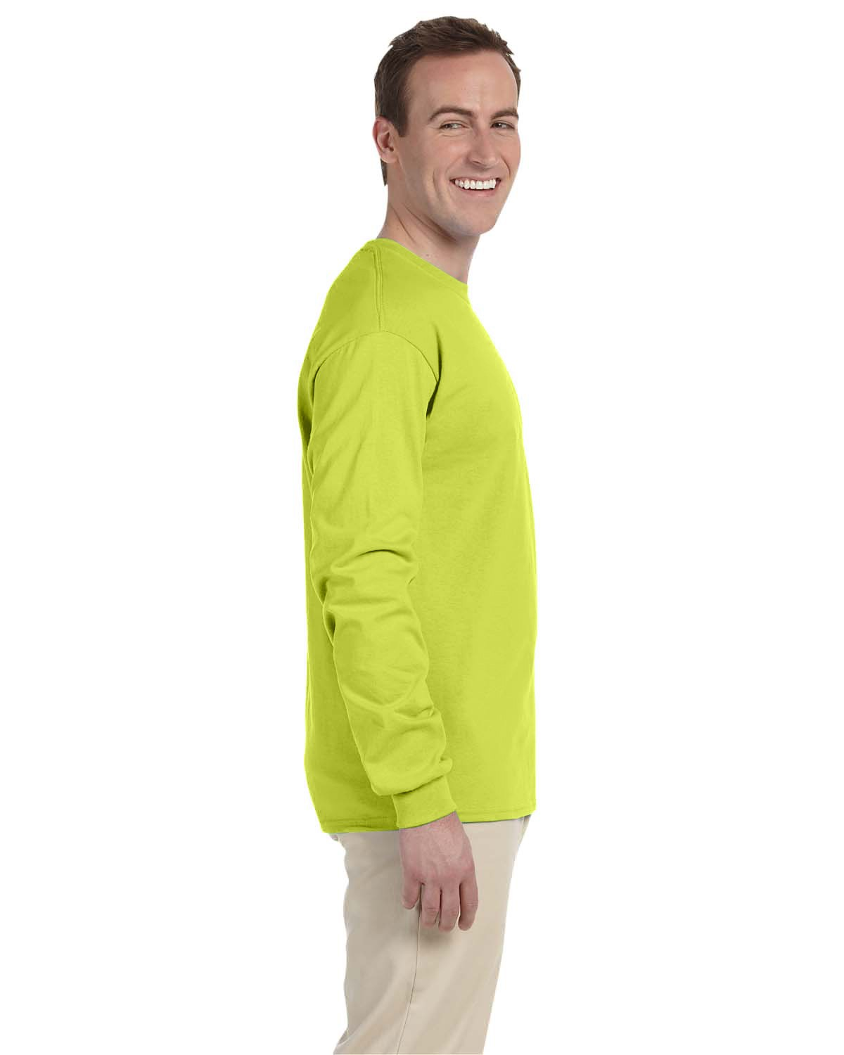 4930 Fruit of the Loom SAFETY GREEN