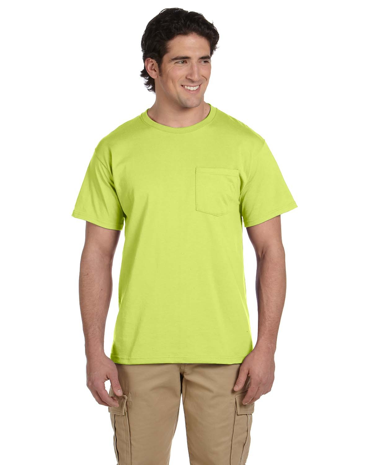 29P Jerzees SAFETY GREEN