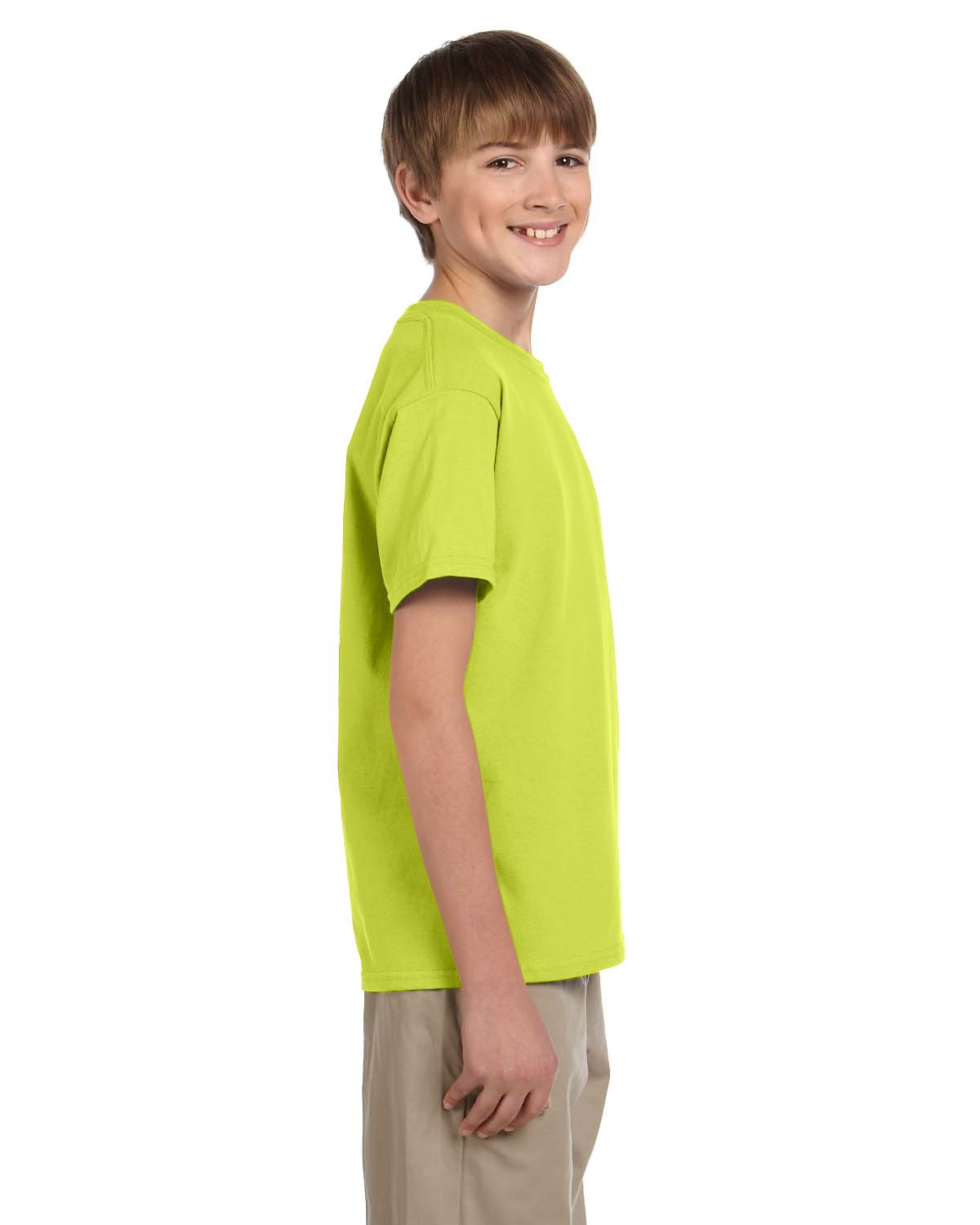 3931B Fruit of the Loom SAFETY GREEN