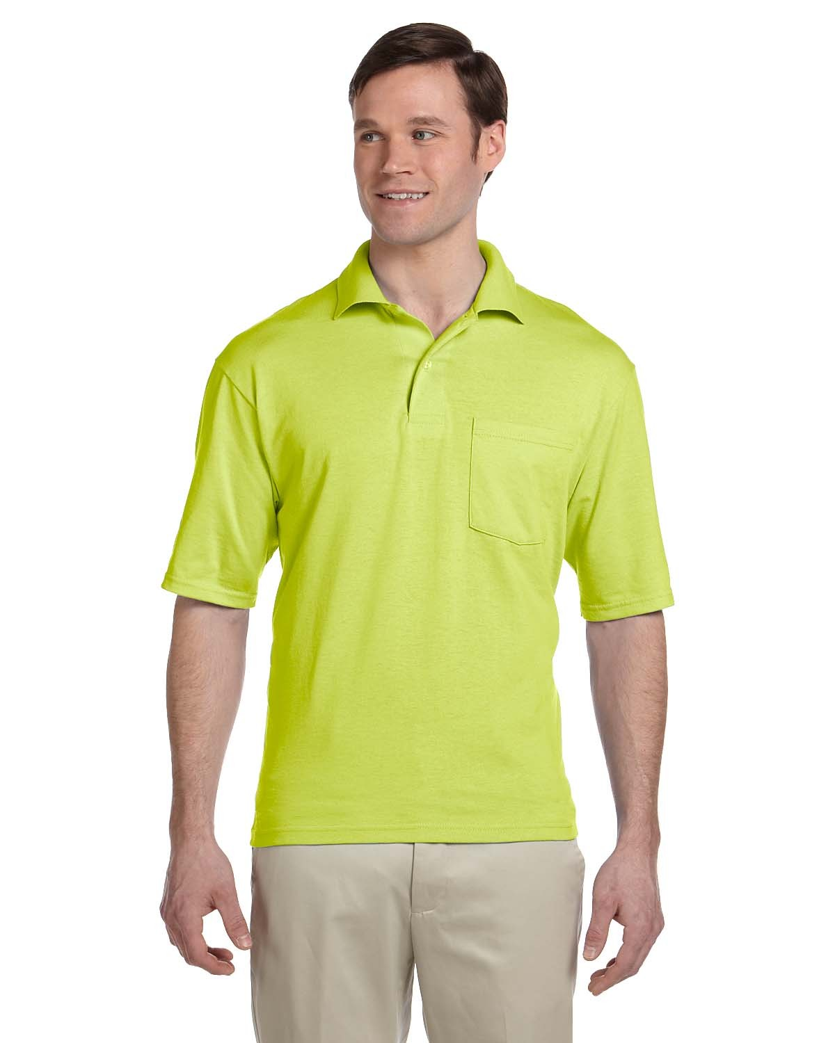 436P Jerzees SAFETY GREEN