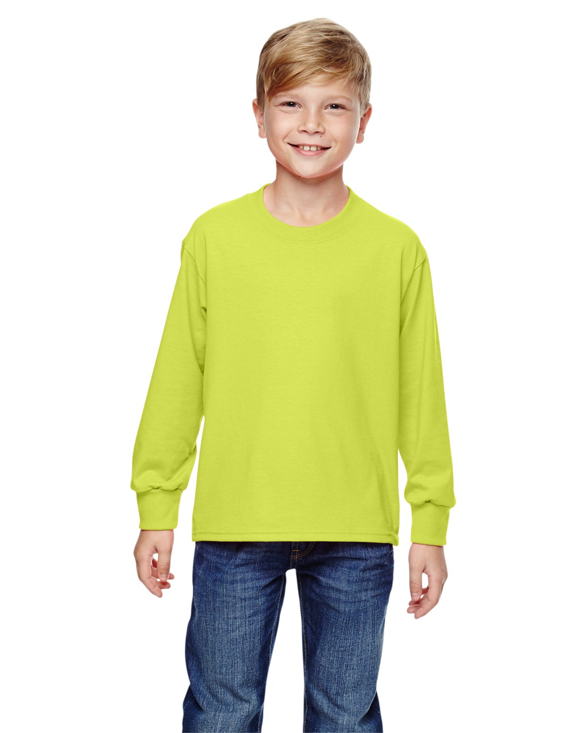 4930B Fruit of the Loom SAFETY GREEN