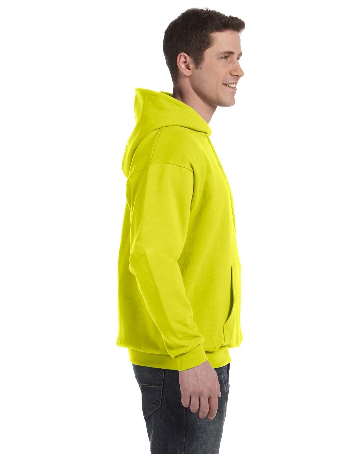 P170 Hanes SAFETY GREEN