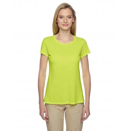 21WR Jerzees 21WR Ladies' 5.3 oz. DRI-POWER SPORT T-Shirt SAFETY GREEN
