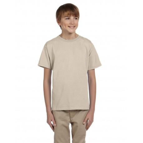 G200B Gildan G200B Youth Ultra Cotton 6 oz. T-Shirt SAND