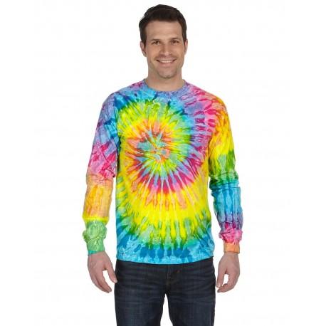CD2000 Tie-Dye CD2000 Adult 5.4 oz., 100% Cotton Long-Sleeve Tie-Dyed T-Shirt SATURN