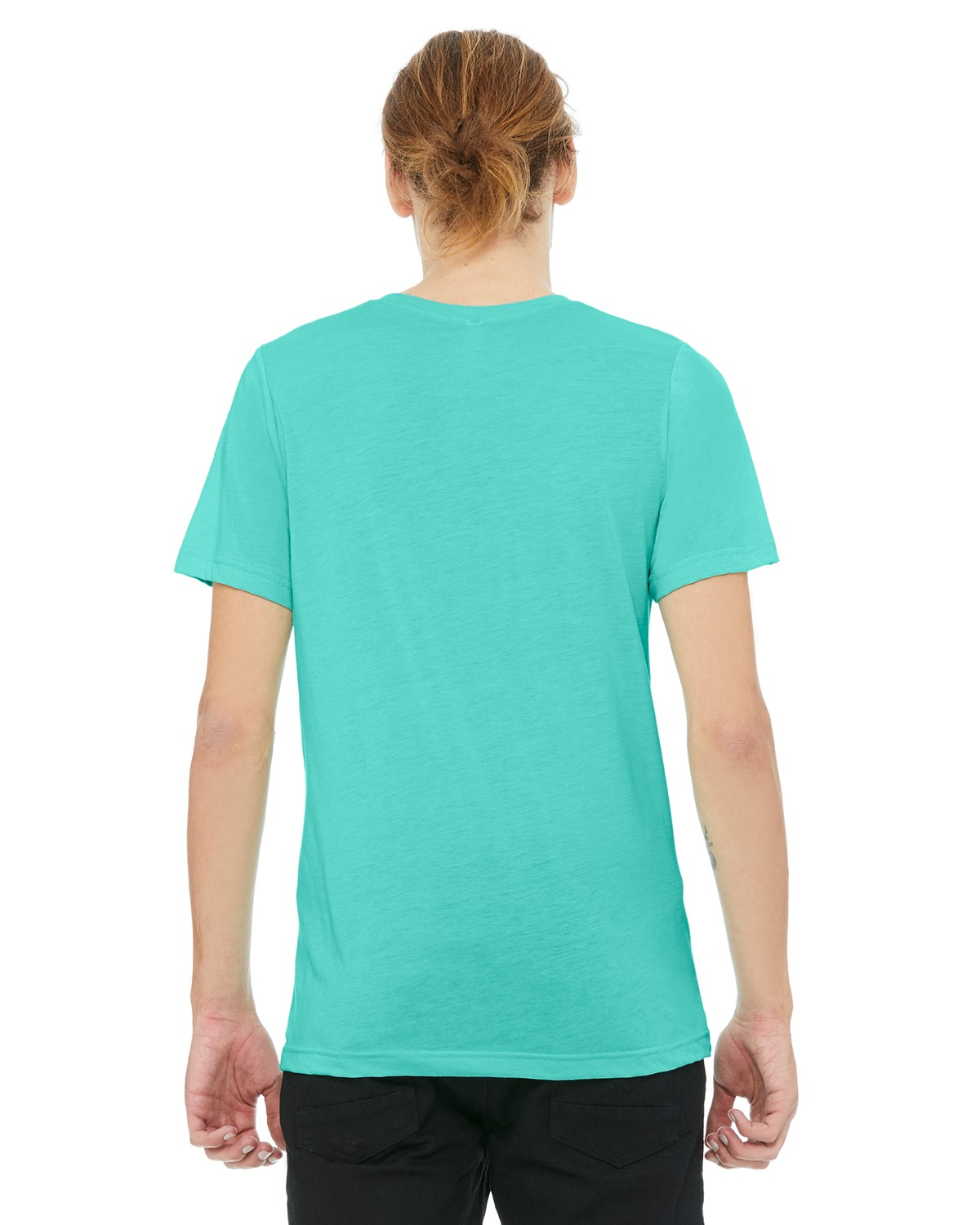 3413C Bella + Canvas SEA GREEN TRBLND