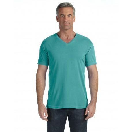 C4099 Comfort Colors C4099 Adult Midweight RS V-Neck T-Shirt SEAFOAM