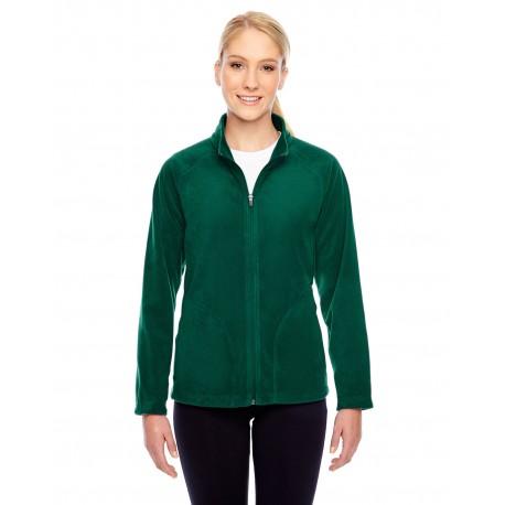 TT90W Team 365 TT90W Ladies' Campus Microfleece Jacket SPORT FOREST