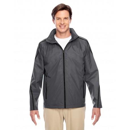 TT72 Team 365 TT72 Adult Conquest Jacket with Fleece Lining SPORT GRAPHITE