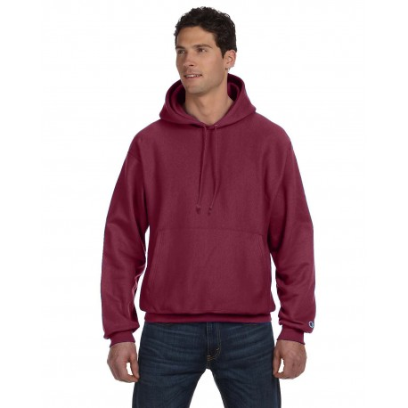 S1051 Champion S1051 Adult Reverse Weave 12 oz. Pullover Hood SPORT MAROON