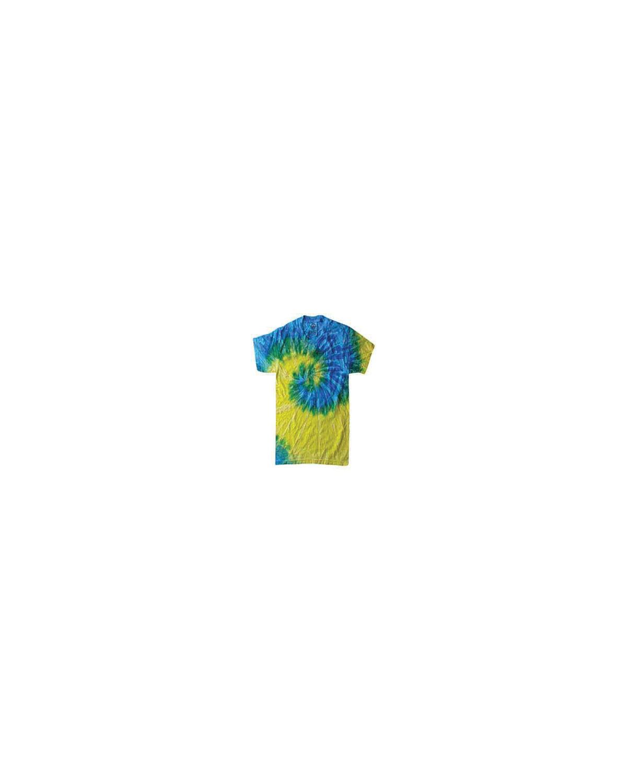 CD100 Tie-Dye SPRAL BLUE/YLLW