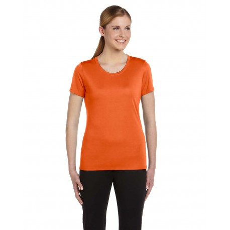 W1009 All Sport W1009 Ladies' Performance Short-Sleeve T-Shirt SPRT SAFTY ORANG