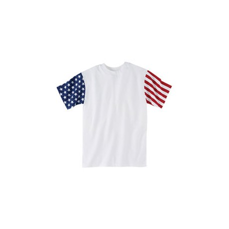 3976 Code Five 3976 Men's Stars & Stripes T-Shirt STARS/STRIPES