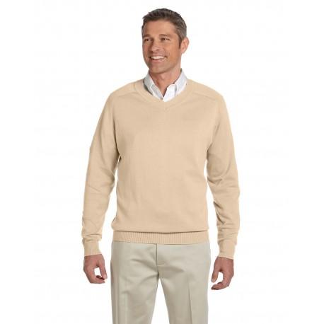 D475 Devon & Jones D475 Men's V-Neck Sweater STONE