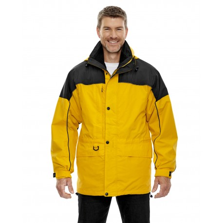 88006 North End 88006 Adult 3-in-1 Two-Tone Parka SUN RAY 720