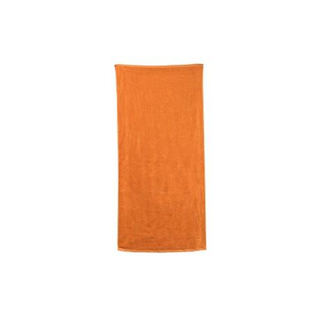 C3060 Carmel Towel Company C3060 Classic Beach Towel TANGERINE