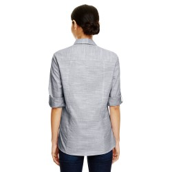Bella + Canvas 8852 Ladies Flowy Long-Sleeve T-Shirt with 2x1 Sleeves