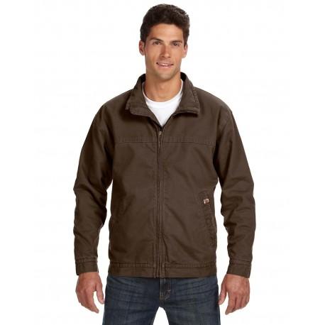 5028 Dri Duck 5028 Men's Maverick Jacket TOBACCO
