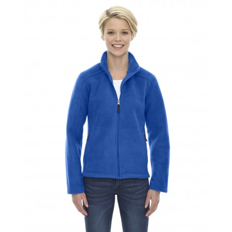 78190 Core 365 78190 Ladies' Journey Fleece Jacket TRUE ROYAL 438