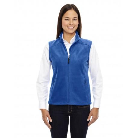 78191 Core 365 78191 Ladies' Journey Fleece Vest TRUE ROYAL 438
