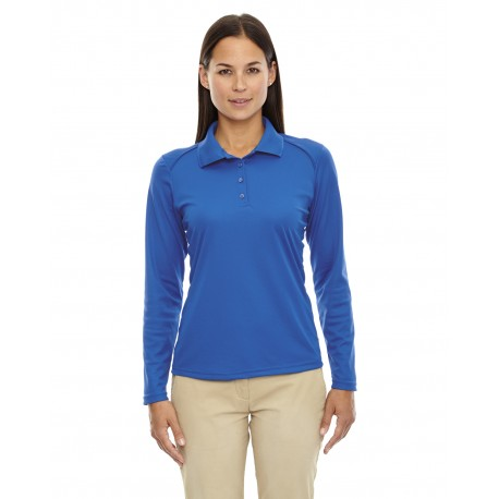 75111 Extreme 75111 Ladies' Eperformance Snag Protection Long-Sleeve Polo TRUE ROYAL 438