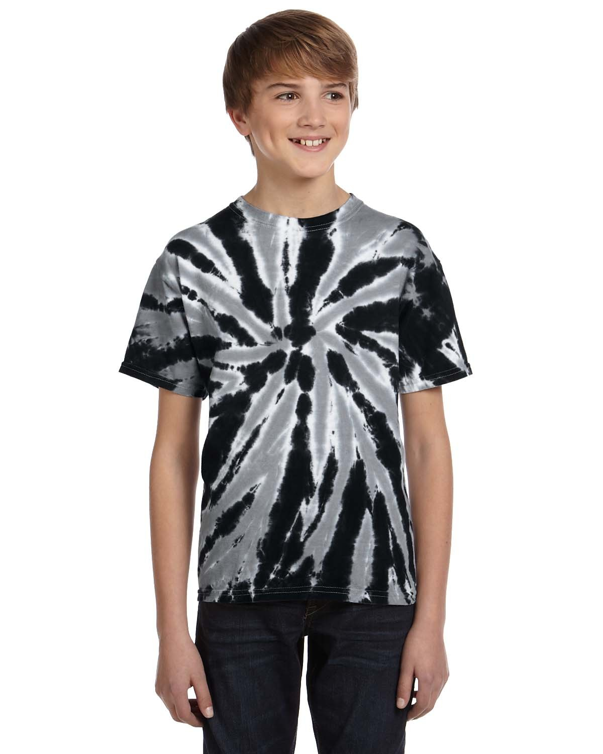 CD110Y Tie-Dye Drop Ship TWIST BLACK