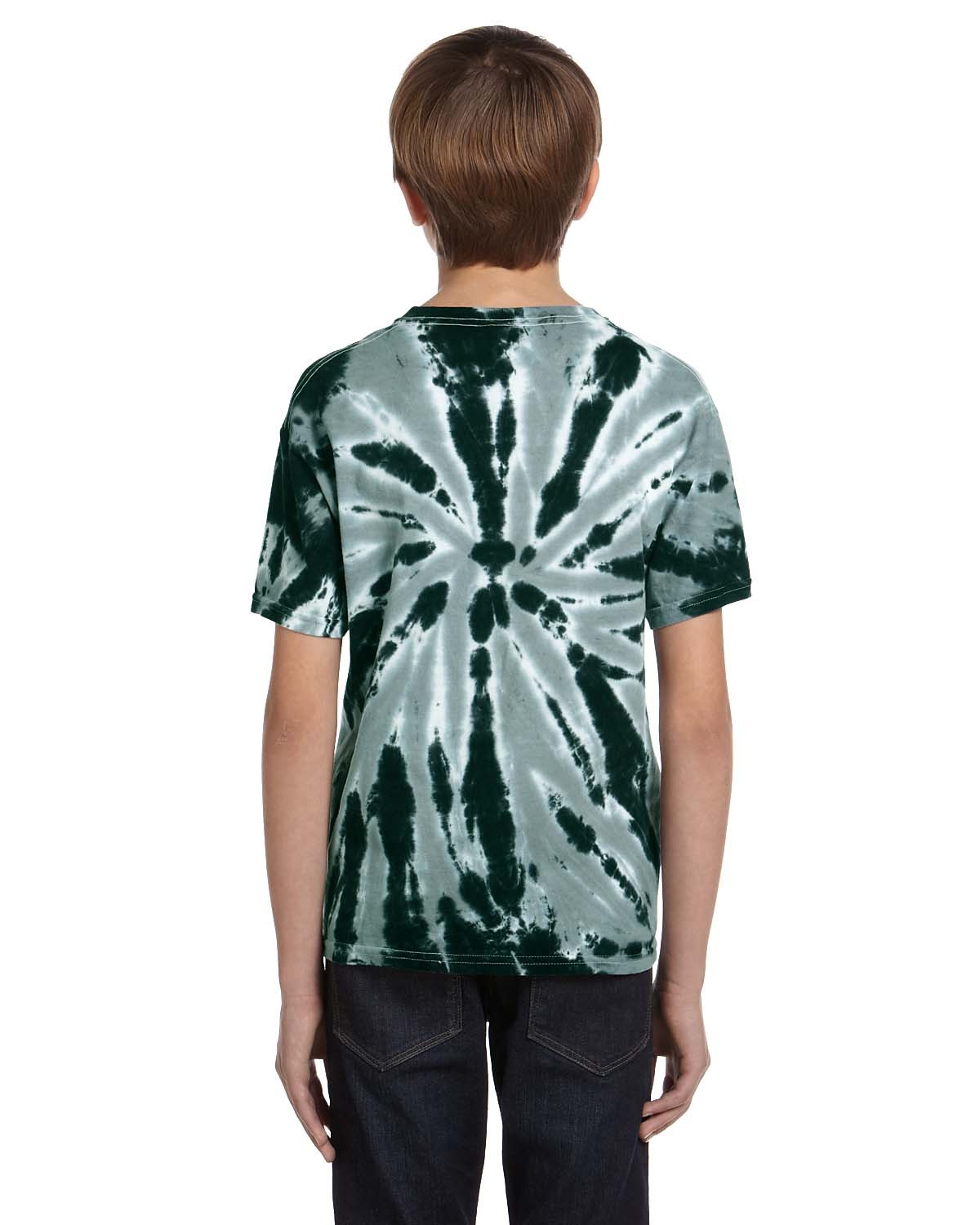 CD110Y Tie-Dye Drop Ship TWIST DARK GREEN
