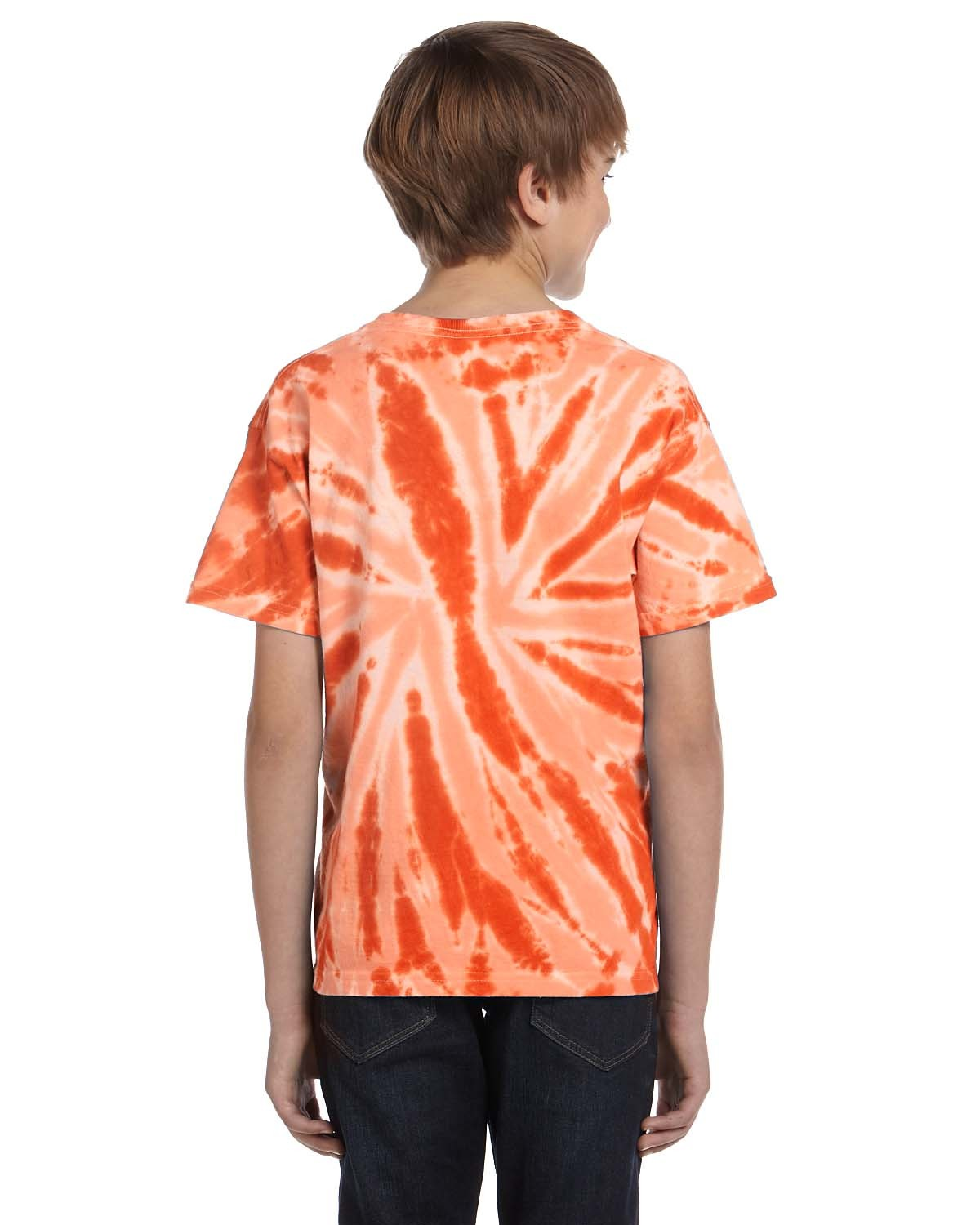 CD110Y Tie-Dye Drop Ship TWIST ORANGE