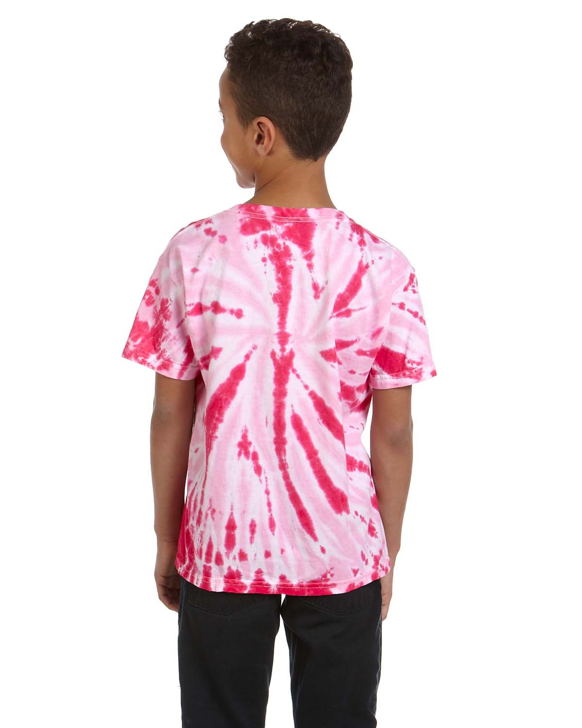 CD110Y Tie-Dye Drop Ship TWIST PINK