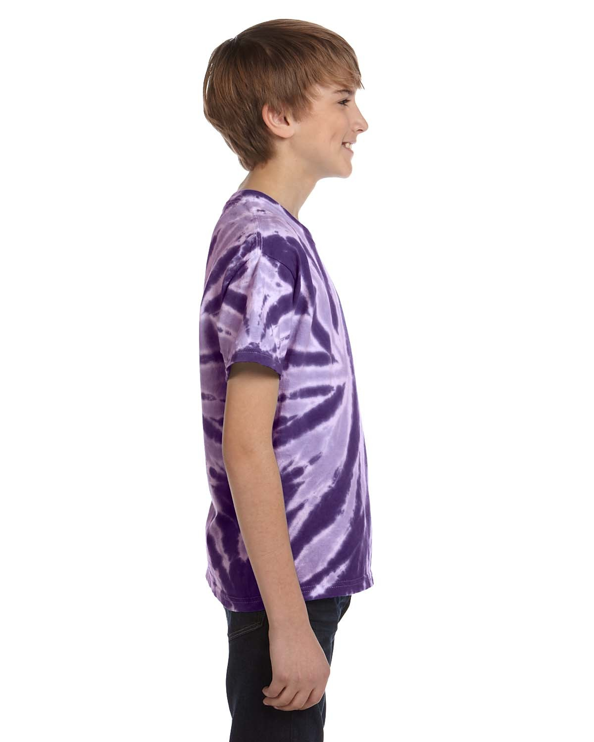 CD110Y Tie-Dye Drop Ship TWIST PURPLE