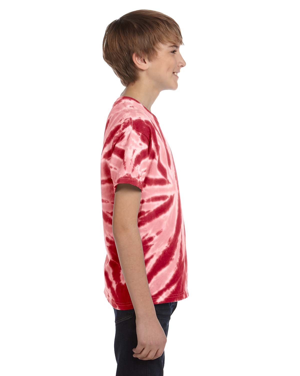 CD110Y Tie-Dye Drop Ship TWIST RED